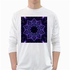 Smoke Art (2) Mens' Long Sleeve T Shirt (white)