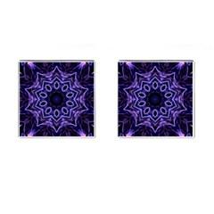 Smoke art (2) Cufflinks (Square)