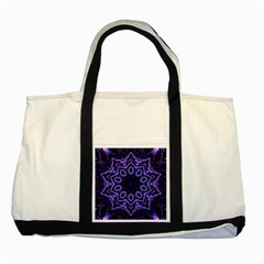 Smoke art (2) Two Toned Tote Bag