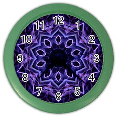 Smoke Art (2) Wall Clock (color)