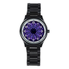 Smoke art (2) Sport Metal Watch (Black)