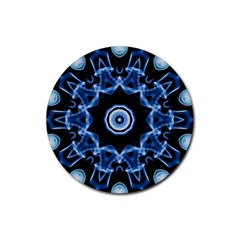 Abstract Smoke  (3) Drink Coaster (round)