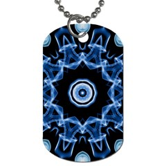 Abstract smoke  (3) Dog Tag (One Sided)