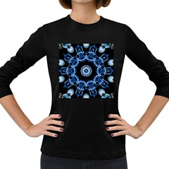 Abstract smoke  (3) Womens' Long Sleeve T-shirt (Dark Colored)