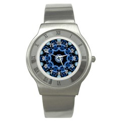 Abstract Smoke  (3) Stainless Steel Watch (unisex)