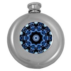 Abstract smoke  (3) Hip Flask (Round)