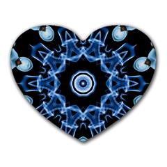 Abstract Smoke  (3) Mouse Pad (heart)