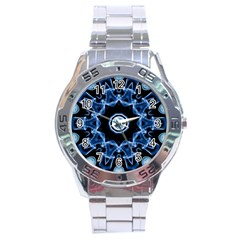 Abstract Smoke  (3) Stainless Steel Watch (men s)