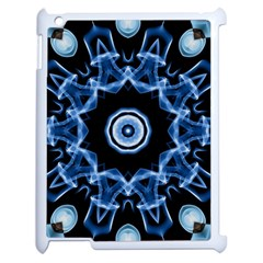 Abstract smoke  (3) Apple iPad 2 Case (White)