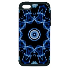 Abstract smoke  (3) Apple iPhone 5 Hardshell Case (PC+Silicone)