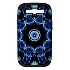 Abstract Smoke  (3) Samsung Galaxy S Iii Hardshell Case (pc+silicone)