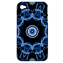 Abstract smoke  (3) Apple iPhone 4/4S Hardshell Case (PC+Silicone)