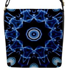 Abstract smoke  (3) Flap closure messenger bag (Small)