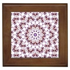 Abstract Smoke  (4) Framed Ceramic Tile