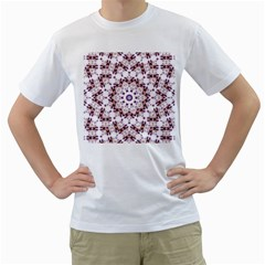 Abstract Smoke  (4) Mens  T-shirt (White)