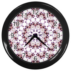 Abstract Smoke  (4) Wall Clock (Black)