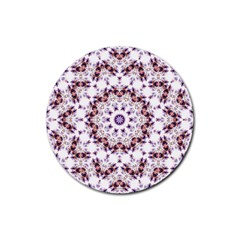 Abstract Smoke  (4) Drink Coasters 4 Pack (round)