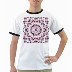 Abstract Smoke  (4) Mens' Ringer T-shirt