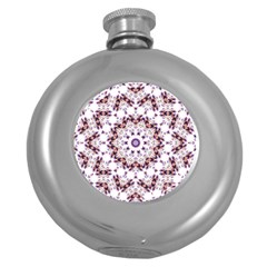 Abstract Smoke  (4) Hip Flask (Round)