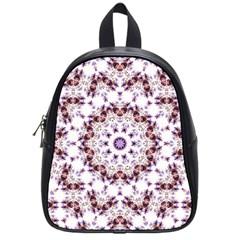 Abstract Smoke  (4) School Bag (Small)