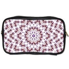 Abstract Smoke  (4) Travel Toiletry Bag (Two Sides)