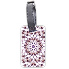 Abstract Smoke  (4) Luggage Tag (one Side)