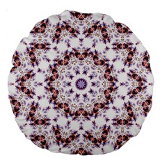 Abstract Smoke  (4) 18  Premium Round Cushion