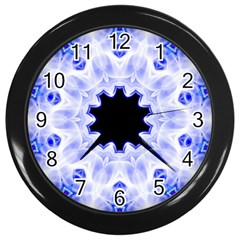 Smoke Art (5) Wall Clock (black)