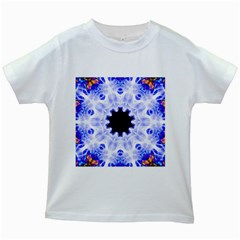 Smoke Art (5) Kids' T-shirt (White)