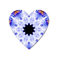 Smoke Art (5) Magnet (heart)
