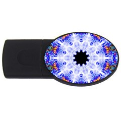 Smoke Art (5) 2gb Usb Flash Drive (oval)