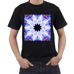 Smoke Art (5) Mens' Two Sided T-shirt (Black)