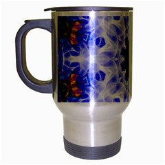 Smoke Art (5) Travel Mug (silver Gray)