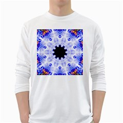 Smoke Art (5) Mens' Long Sleeve T Shirt (white)