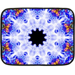 Smoke Art (5) Mini Fleece Blanket (Two-sided)
