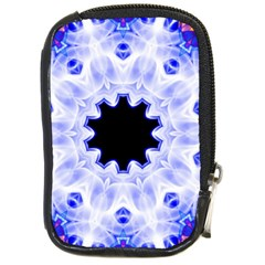 Smoke Art (5) Compact Camera Leather Case
