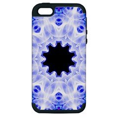 Smoke Art (5) Apple iPhone 5 Hardshell Case (PC+Silicone)