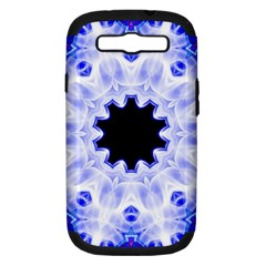 Smoke Art (5) Samsung Galaxy S III Hardshell Case (PC+Silicone)