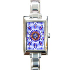 Smoke Art  (6) Rectangular Italian Charm Watch