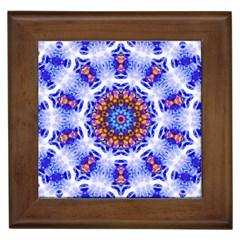 Smoke Art  (6) Framed Ceramic Tile