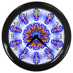 Smoke Art  (6) Wall Clock (black)