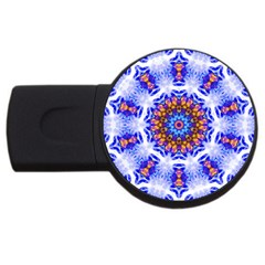 Smoke Art  (6) 2GB USB Flash Drive (Round)