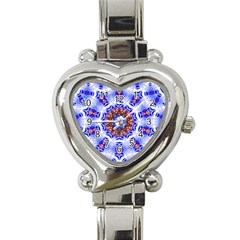 Smoke Art  (6) Heart Italian Charm Watch