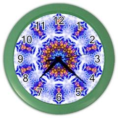 Smoke Art  (6) Wall Clock (Color)