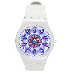 Smoke Art  (6) Plastic Sport Watch (medium)