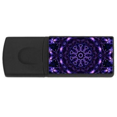 Smoke Art (7) 1GB USB Flash Drive (Rectangle)