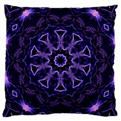 Smoke Art (7) Large Cushion Case (Two Sides)