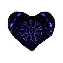 Smoke Art (7) 16  Premium Heart Shape Cushion