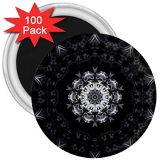 (8) 3  Button Magnet (100 Pack)