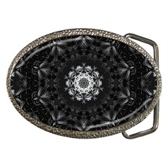 (8) Belt Buckle (Oval)